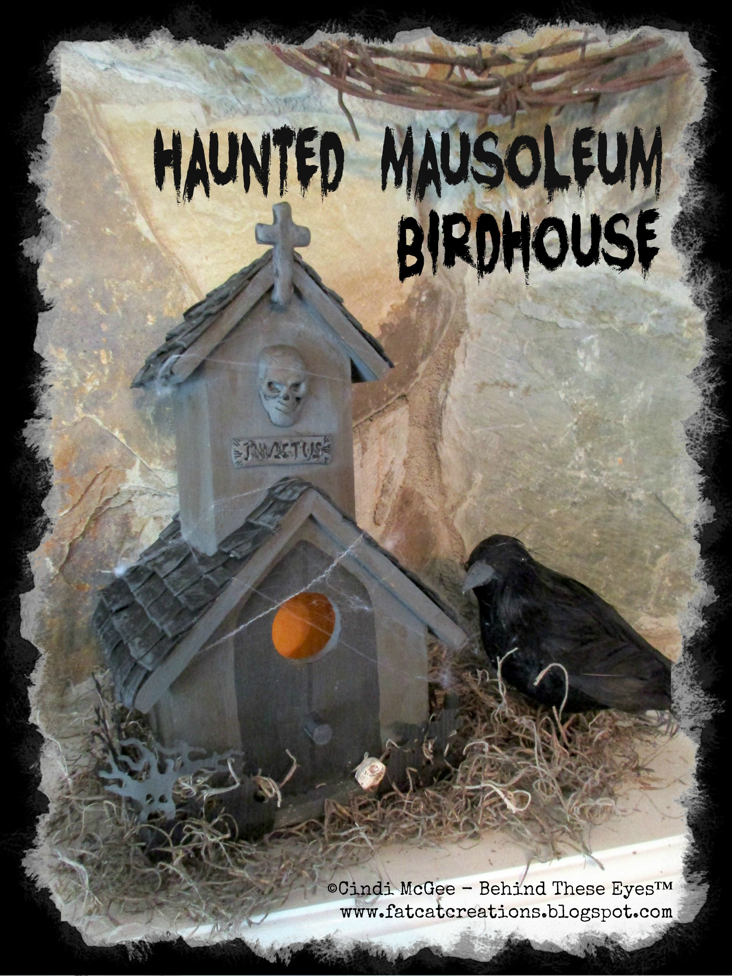 mausoleum birdhouse