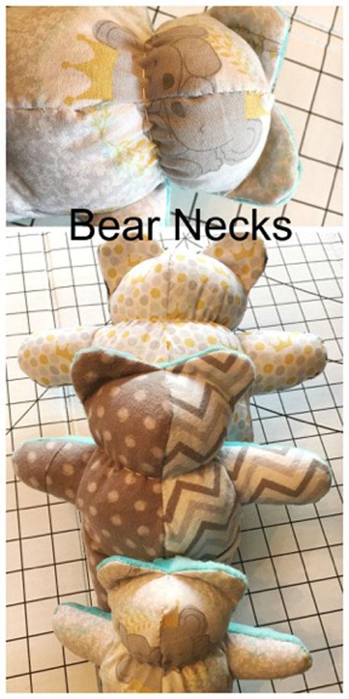 The Three Bears Bear Necks