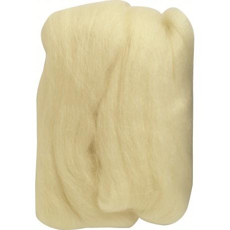 natural wool roving
