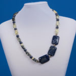 Elegant Shades of Blue Necklace