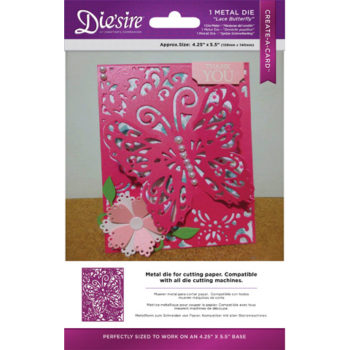 Die'Sire Create-A-Card Die - Butterfly Dreams