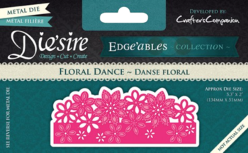 Die'sire Edge'ables Collection Floral Dance