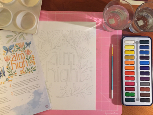 Just Add Watercolor How 1