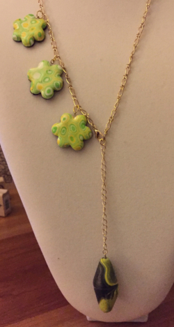 Spring Flowers Necklace