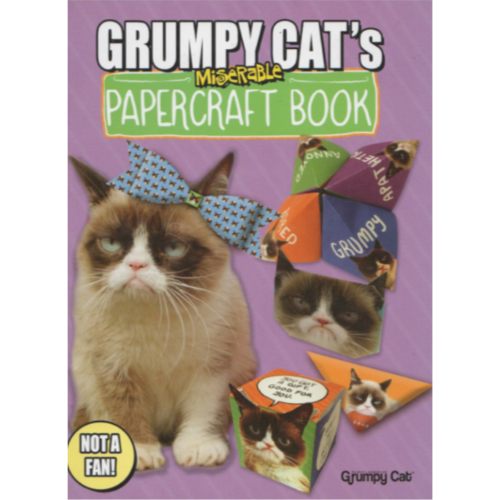 Grumpy Cat's Miserable Papercraft Book