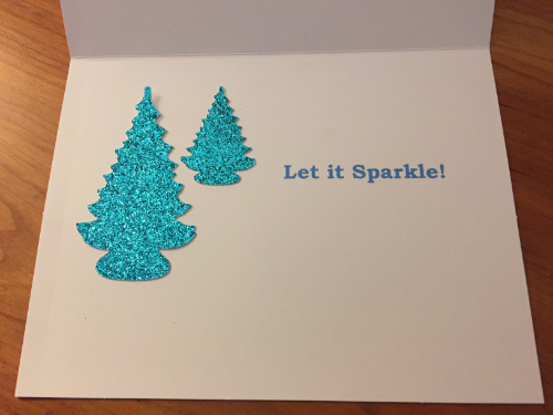 Let it Sparkle Holiday Card 3