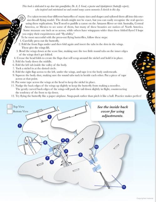 Butterfly Folding Instructions