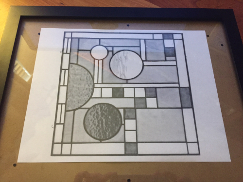 Simulated Stained Glass Sun Catcher How 1